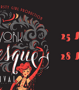 New York Burlesque Festival banner ad
