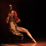 Nasty Canasta performing at the 2014 Toronto Burlesque Festival Day 2