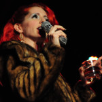 Nasty Canasta performing at the 2013 Wasabassco Burlesque Ninth Anniversary Show