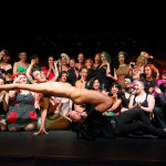 New York Burlesque Festival 2015 Friday night premiere party at Brooklyn Bowl.