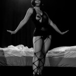 Obskyura performing at the Toronto Burlesque Festival 2014 Day 1: Hotel Tryst