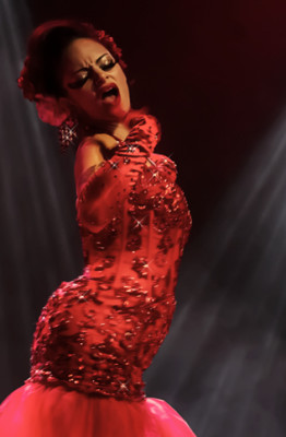 Pastel Supernova performing at the Toronto Burlesque Festival One Night Stand Gala