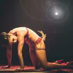 Pastel Supernova performing at the Toronto Burlesque Festival Teaser show, Bombshell