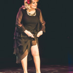 Penny Starr onstage for the 2015 Burlesque Hall of Fame Weekend Legends of Burlesque Walk of Fame.