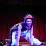 Penny Wren performing at the 2013 Wasabassco Burlesque Ninth Anniversary Show