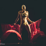 Percy Katt performing at the Toronto Burlesque Festival Teaser show, Bombshell