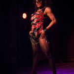 Perle Noire performing at Bedroom Burlesque: A Penthouse Forum Release Party With The New York School of Burlesque