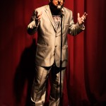 The Great Canadian Wolfman emcees the Great Canadian Burlesque show, Girlesque.