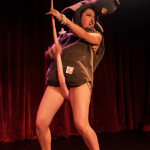 Pistola Deluxe performing at the 2014 New York Burlesque Festival