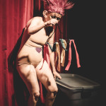 Pixie Trix performing at the 2015 Toronto Burlesque Festival opening night show, The Lost Toys.