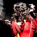 Poison Eve performing at Bushwick Burlesque 4 year anniversary show at Bizarre Bushwick