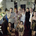 The premiere Prague Burlesque Show cast