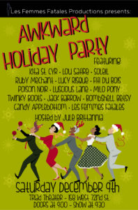 Awkward Holiday Party @ The Triad Theater  | New York | New York | United States