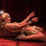 Rasa-Vitalia performing at the 2014 New York Burlesque Festival