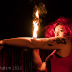 Red Sarah performing at Cabaret Roulette in London