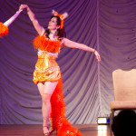 Red Velvet performing at the 2015 Great Burlesque Exposition day 1 show, The Rhinestone Revue