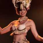 Rhapsody Blue performing at the 2014 Toronto Burlesque Festival