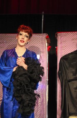 Gypsy Rose Lee at Minsky's: Burgundy Brixx