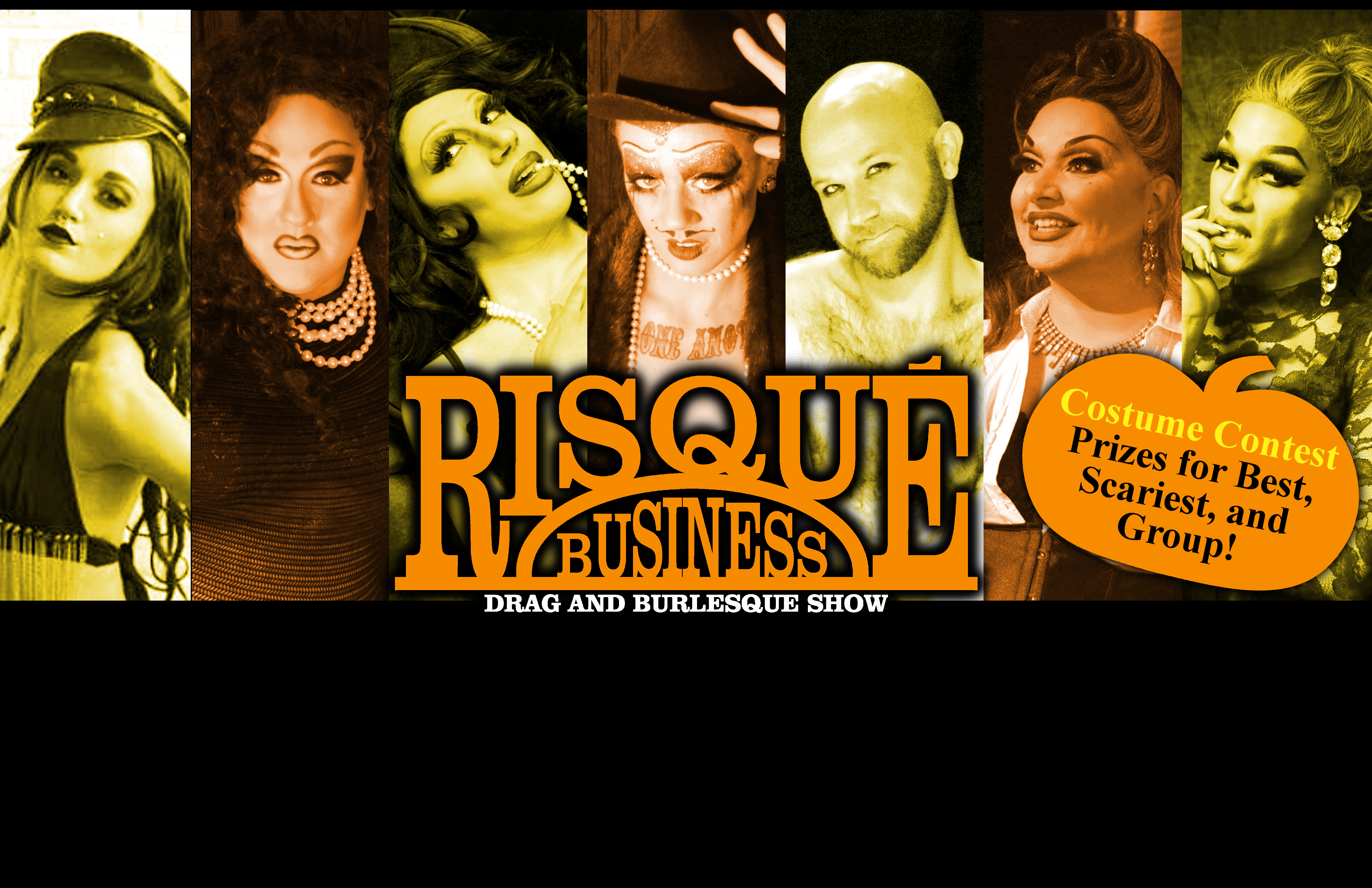 Risque Business Halloween Drag & Burlesque Show @ River City Blues Club & Dart Room | Harrisburg | Pennsylvania | United States
