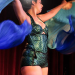 Rita Menweep performing at the 2014 New York Burlesque Festival