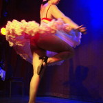 Rita Menweep performing at Hotsy Totsy Burlesque show Wizard of Oz Burlesque at the Slipper Room, NYC.