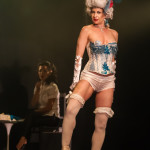 Sauci Calla Horra performing at the 2014 Toronto Burlesque Festival