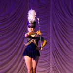 Scarlet Starlet performing at the 2015 Great Burlesque Exposition day 1 show, The Rhinestone Revue