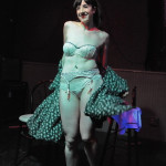 Seedy Edie performing at the Hollaback Girls Benefit Burlesque Show