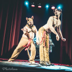 Dr. Orifice, Shaanlesque performing at Jinkies! A Hanna Barbera Burlesque Tribute, Toronto.