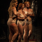 St. Stella, Cerise Noir, & Bianca Boom Boom performing at the 2014 Toronto Burlesque Festival Day 2