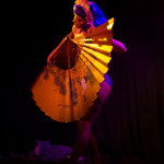 Sukki Singapora performing at The 3rd Annual Asian Burlesque Spectacular at Drom NYC.