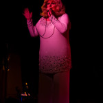 Sweetie performing at The 3rd Annual Asian Burlesque Spectacular at Drom NYC.