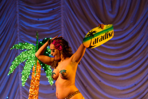 Taradise performing at the 2015 Great Burlesque Exposition day 1 show, The Rhinestone Revue