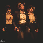 Uptown Funk performing at the Toronto Burlesque Festival Teaser show, Bombshell