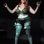 Varla Velour performing at the Hollaback Girls Benefit Burlesque Show