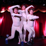 Varsity Interpretive Dance Squad performing at the New York Burlesque Festival 2015 Friday night premiere party at Brooklyn Bowl.