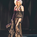 Velvet Ice onstage for the 2015 Burlesque Hall of Fame Weekend Legends of Burlesque Walk of Fame.