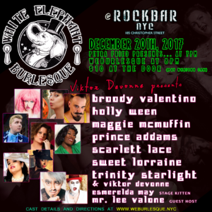 White Elephant Burlesque @ Rockbar NYC | New York | New York | United States