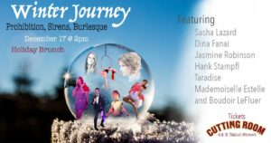 Winter Journey: Prohibition, Sirens & Burlesque Brunch! @ The Cutting Room | New York | New York | United States