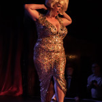 World Famous *BOB* performing at the 2014 New York Burlesque Festival