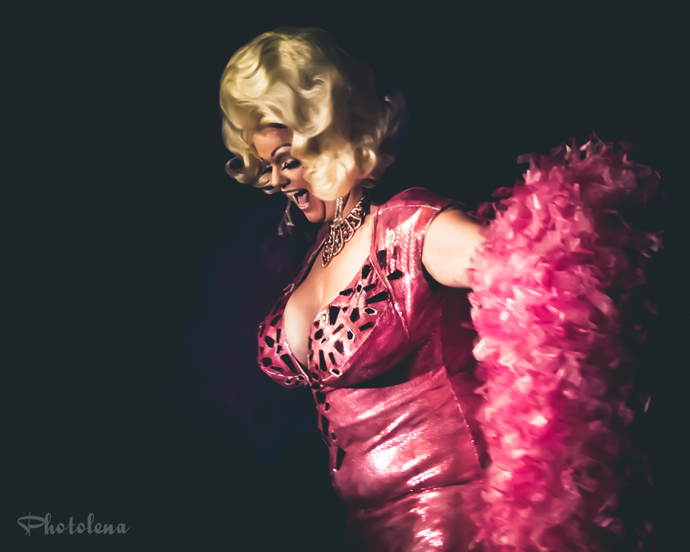 World Famous *BOB* performing at the 2015 New York Burlesque Festival Saturday Night Spectacular at B.B. King Blues Club.