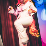 Zilly Lilly performing at Peepshow Go: A Pokemon Burlesque Tribute, The Great Hall, Toronto.
