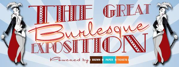 banner for the Great Burlesque Expo 9
