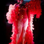 Rubyyy Jones performing at Goodtime Mama Jo King's Goodtime Cabhooray burlesque show at Blind Bee in London, April, 10, 2015